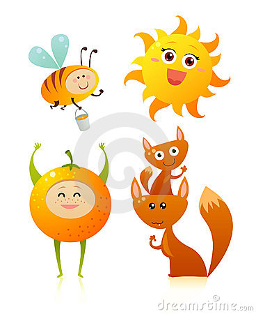 Orange friends