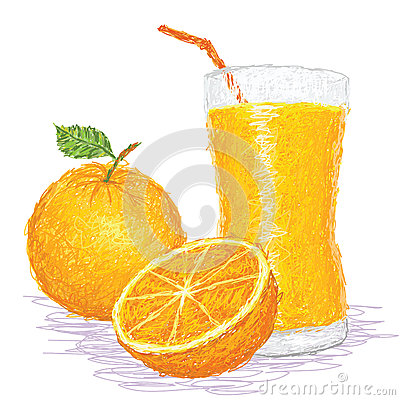 Orange fruit juice