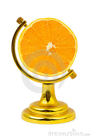 Free Orange Fruit Like A Globe Stock Photos - 21160223
