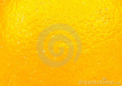 Orange fruit skin
