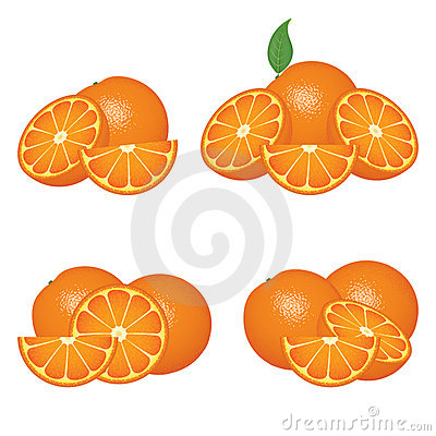 Orange fruits compositions
