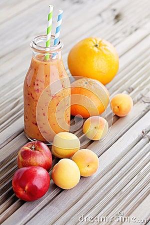 Free Orange Fruity Smoothie Stock Photos - 41248513