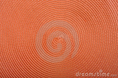 Orange grass intertexture surface