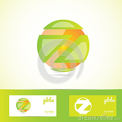 Free Orange Green Sphere Globe Logo Royalty Free Stock Images - 54342669