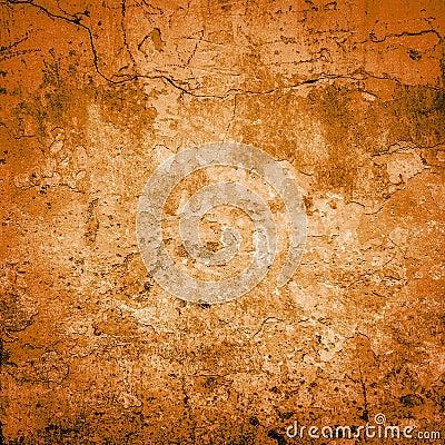Orange grunge background or texture