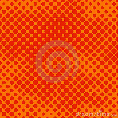 Free Orange Halftone Stock Images - 2596054