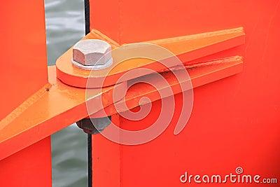 Orange hinge
