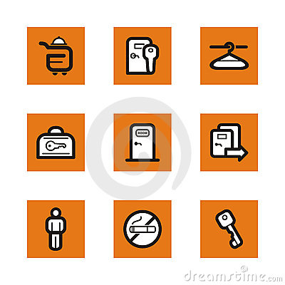 Orange icon series