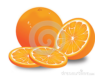 Orange, illustration