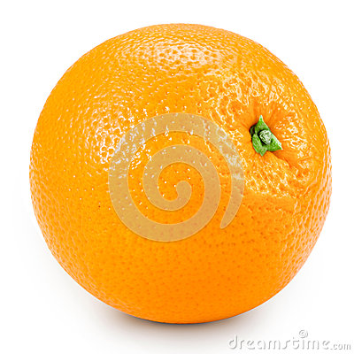 Orange isolated