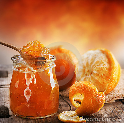 Free Orange Jam Stock Images - 18263764