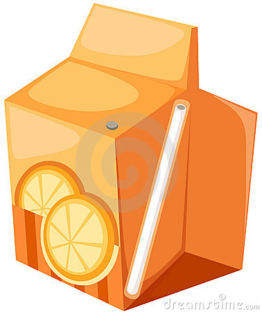Orange Juice Box Royalty Free Stock Photo - Image: 15306685