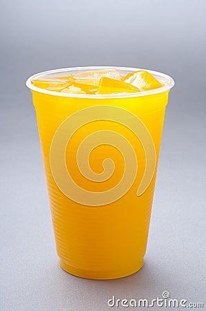 Orange juice cup