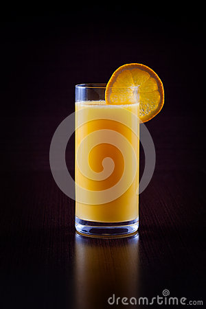 Free Orange Juice On Black Royalty Free Stock Image - 30327616