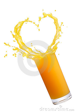 Free Orange Juice Splash Royalty Free Stock Images - 19609189