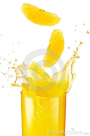 Free Orange Juice Splash Stock Images - 3311304