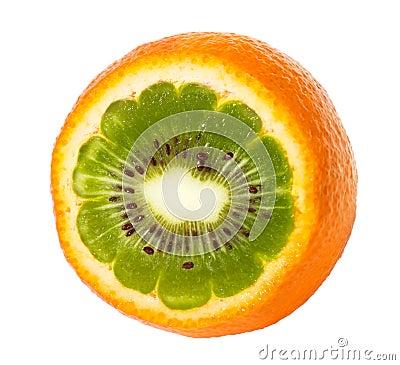Orange kiwi