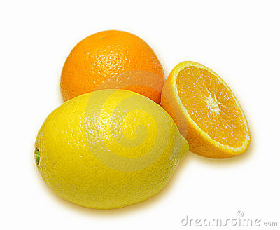 Orange and lemon composition