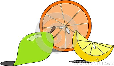 Orange and lemons