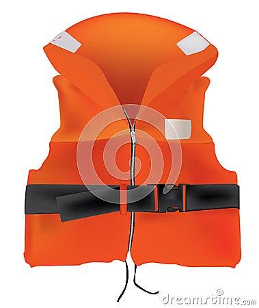 Orange Life Jacket