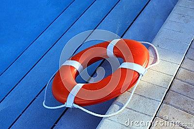 Orange Lifebuoy