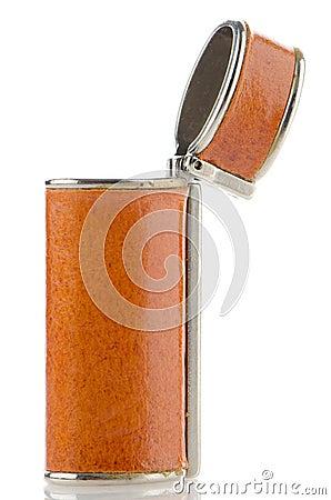 Orange lighter case