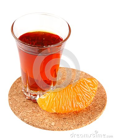 Free Orange Liqueur And Citrus Slices Royalty Free Stock Photography - 29269057