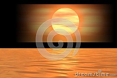 Orange logo banner
