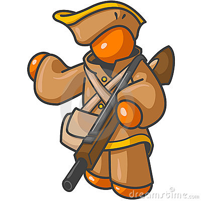 Orange man hunter