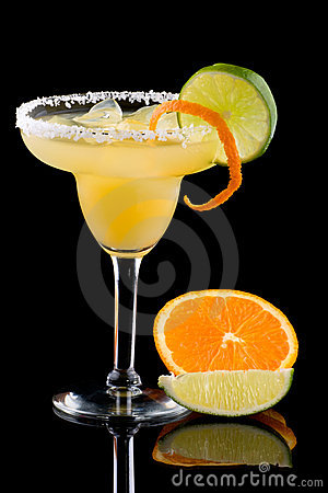 Free Orange Margarita - Most Popular Cocktails Series Royalty Free Stock Photos - 6865228