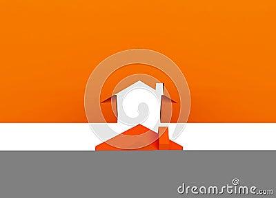 Orange metaphor house