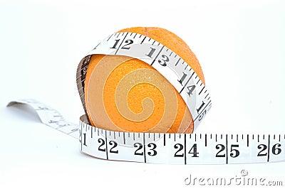 Orange and meter