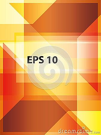 Orange minimales techno Unternehmenssymbole