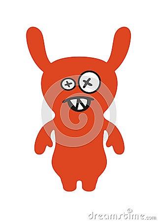 Orange Monster Stock Photos