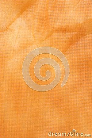Orange napkin texture paper