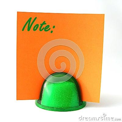 Orange Note Note