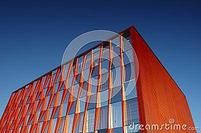 Orange office block