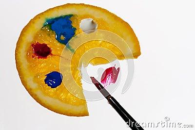 The orange painter s gamut