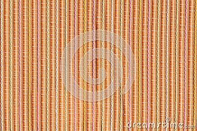 Orange pastel fabric