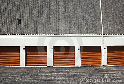 Orange public storage gates