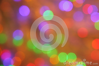 Orange Purple Green Red Blur Background - Stock PHotos