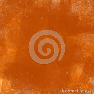 Orange Red Illustrated Abstract Background. Image includes paint spots and multiple layers of rough rust texture. Stock Photo