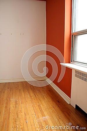 Free Orange Room And Window Royalty Free Stock Photos - 14910968
