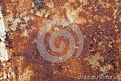 Orange Rust Texture