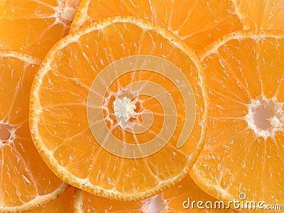 Orange Scheiben