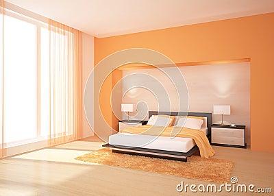 Orange Schlafzimmer Stockbilder - Bild: 15577944 Schlafzimmer Orange