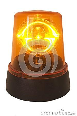 Free Orange Siren Royalty Free Stock Image - 1173256