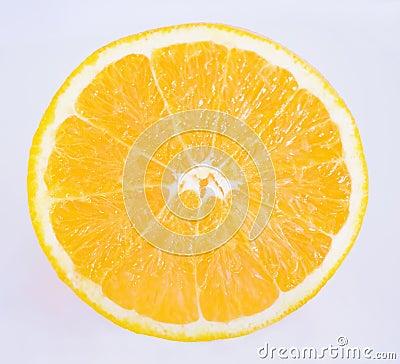 Orange skiva
