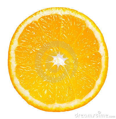 Free Orange Slice Royalty Free Stock Photo - 4860255