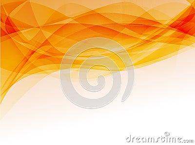 Orange smoke